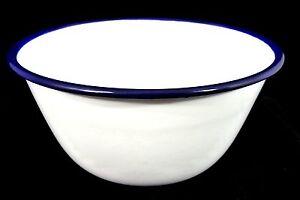 Traditional Falcon Enamel Pudding Basin Bowl