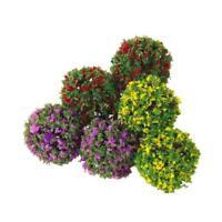 Mixed 30x Flower Trees Model Train Garden Scenery Landscape HO Scale 1:100 Decor