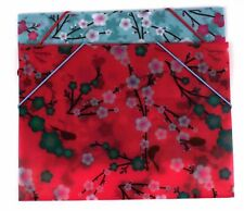 1 X A4 Plastic Carry Folders Document Stud Wallets Mix Colours Paper File