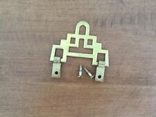 """New listing 2 1/8"""" x 1 5/8"""" Chinese Decorative Brass Picture Frame Hanger"""