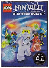 LEGO NINJAGO REBOOTED BATTLE FOR NEW NINJAGO CITY SEASON 3 PART 1(DVD, 2014) NEW