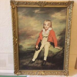 Early 20th Century PEERART Print Sir George Sinclair by H Raeburn (1756-1823)