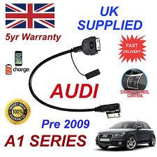 Para Audi A1 4 F 005151 Iphone 3gs 4 4s & iPod AMI MMI más Cable de audio pre 2009
