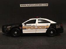 Paterson Police NJ 1:24 Scale Ford Taurus Interceptor Replica Police Car