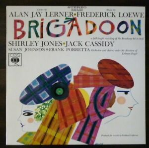 Various -  Brigadoon (Broadway Recording) - 1960's Oz Press - MINT Vinyl LP