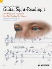 Guitar Sight-Reading 1/Dechiffrage Pour La Guitare/Vom-Blatt-Spiel Auf Der Gitar