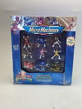 Micro Machines Mighty Morphin Power Rangers Battle Bike Collector's Set