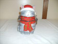 Ceremic Cat Cookie Treat Jar New