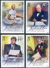 Gibraltar 2008 Europa-Cept MNH Kennedy,Churchill,Gandhi,Nelson