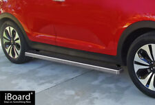 "iBoard Side Steps Nerf Bars 4""  Fit 11-16 KIA Sportage"