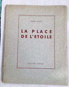 Desnos, Robert (1900-1945) La place de l'Étoile, antipoème .E.O.1945