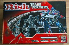 RISK Transformers Cybertron Battle Edition Parker Brothers New Unused.