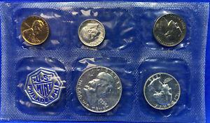1956 US Mint Silver Proof Set Lot 50C 25C 10C 5C 1C (Uncertified) with Envelope