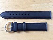 NEW SPEIDEL WATCH BAND BRACELET- Padded Calfskin Leather 19mm 3060L Black