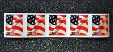 2002USA #3632 37c Flag American Plate Number Coil Strip of 5 PNC Mint #6666
