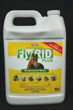 Fly Rid Plus Insect Control Multipurpose Spray Indoor Outdoor Durvet 64 Oz. New