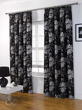 Just Contempo Contemporary Floral Curtains & Pelmets