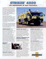 2006OS Oshkosh Striker 4500 Prospekt USA 2003 Feuerwehr fire truck engine LKW