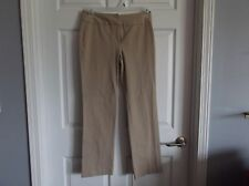 EUC Laura Ashley womens taupe dress pants for work. womens 6, awesome!