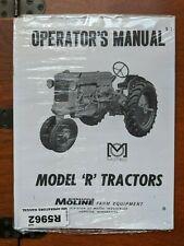 Minneapolis Moline Model R Tractors Operators Manual Reprint