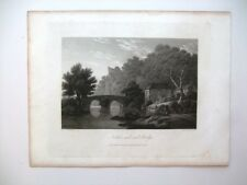 Nottar Rock and Bridge (published May Ist, 1813)