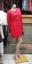 Frank Lyman Canada neuf avec étiquette 16 SENSATIONNEL coquelicot rouge Manteau