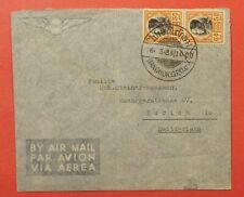 1938 THAILAND BANGKOK AIRMAIL TO SWITZERAND