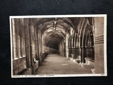 Vintage Postcard #TP270: Sunshine In The Cloisters, Chester Cathedral