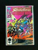 STRIKEFORCE: MORITURI #3 MARVEL COMICS 1987 NM+