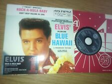 "ELVIS PRESLEY "" ROCK-A-HULA BABY "" CD SINGLE ( ELVIS No1 SINGLES REISSUE SERIES)"