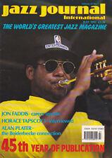 JAZZ JOURNAL MAGAZINE 1992 JUL JON FADDIS, HORACE TOPSCOTT, ALAN PLATER