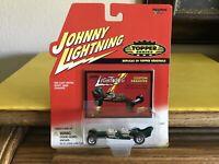 Johnny Lightning Topper Series Custom Dragster 1/64 NIP Dark Green W/Card