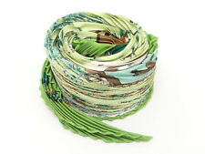 Auth HERMES Scarf Pleated Carre Neige d'Antan Green 0 Ship 31130950900 f23F