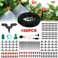 Irrigation System Distribution Tubing Watering Drip Kit for Garden Greenhouse