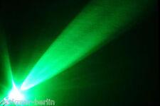12 St. flackernde LED 5mm grün Flackerlicht, Kerze, Feuer, inkl. Widerstand
