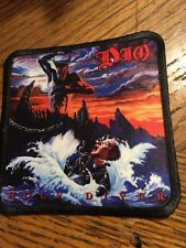 Dio Holy Diver Sublimated Patch 3�x3� Album Cover Rock Metal Music