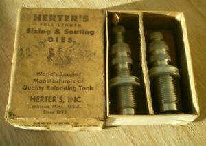 Vintage Herter's 32 Special Win Sizer & Seater Dies - Reloading