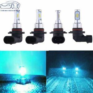 4x Combo LED Headlight Bulbs Kit High&Low Beam  35W 8000K 9005 9006 HB3 H10 HB4