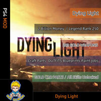 Dying Light (PS4 Mod) Max Items/280 GOLD WEAPONS/All Skill Unlocked/Craft Parts