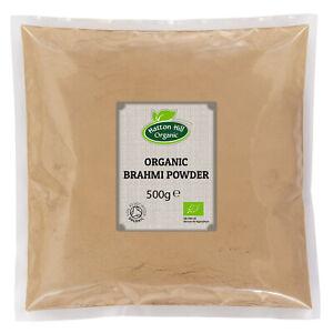 Organic Brahmi Powder 500g Certified Organic