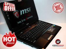 "MSI GT60 Dominator Gaming Laptop 15,6"" Intel Core i7 1.5TB HDD 16GB RAM WIN10"