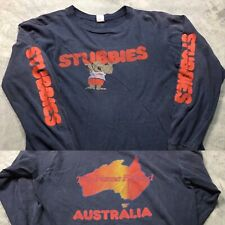 80s VTG STUBBIES AUSTRALIA SURF Shorts T SHIRT Skate Koala Bear Soft Made in USA