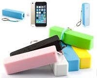 Power Bank Bateria Externa Cargador Portatil 2600 mAh Iphone 3G 4 4S 5 5S 6 6+