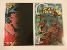 Complete Set Convergence Justice Society Of America #1 2 DC Comics (2015)