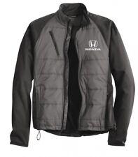 Honda Grey Sporty Puff Softshell Jacket.