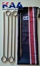 Butchers/chefs/hunters/cooks Roast Meat Rolling Needle Kit With Carry Bag