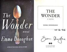 Emma Donoghue~PERSONALLY SIGNED & DATED~The Wonder~1st/1st HC + Photos!