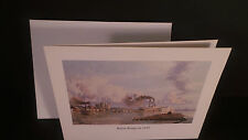 BATON ROUGE in 1881 by John Stobart - NOTE CARD - FREE SHIPPING