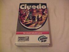 Cluedo Games To Go Travel Game  Parker/Hasbro 2005