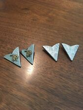 Vintage Western Wear Collar Points Two Pairs
